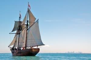 Enterprize ship docklands - Melbournes tall ship
